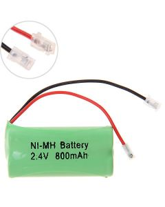 Ni-MH AAA 2.4V 800mAh Battery Pack for Cordless Phone-2 Pcs in One Raw