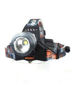 Boruit RJ-2800 Waterproof CREE XM-L T6 Zoomable 1000LM 3 Mode Focus LED Headlamp Headlight Bicycle Bike