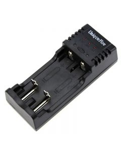 UniqueFire BC-U2 Smart Charger For 10440/14500/14650/16340/17670/18500/18650/18700 Battery With USB 5V/500mA Output