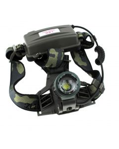 No Logo CREE XM-L T6  1200LM 3 Modes Automatic Zoomable Headlamp(2*18650)