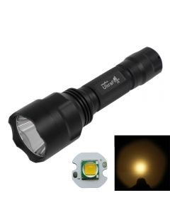 UltraFire C8 Cree XM-L T6 5-Mode Warm White Led Flashlight Torch(1*18650)