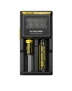 Nitecore D2 Digi LCD Microcomputer Controlled Intelligent Charger Fits almost all rechargeable (Li-ion, Ni-MH and Ni-Cd) batteries