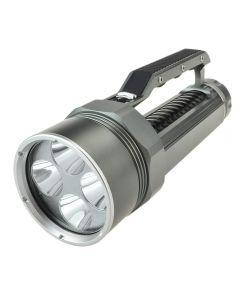 LusteFire DV400 4*Cree XM-L2 Max 4000 Lumens Dimming LED Diving Flashlight (2*26650,Not include) -Gray+ Black
