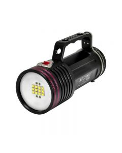 Archon DG70W/WG76W 12*CREE XM-L2 U2 LED White light 4*Red CREE XP-E N3 3 Modes Max 7000 Lumens Underwater Photographing Lights +6*18650+Charger