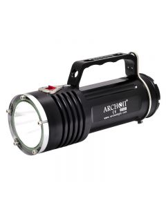 Archon WG96/DG90 Goodman Handle Diving Light 1* SST-90 LED Max 2200 Lumens 3 Modes LED Diving Flashlight with 6*18650 +Charger