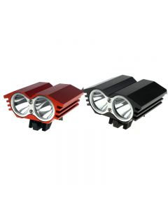 SolarStorm X2 2*Cree XML-T6 LED 2000 Lumen 4 Mode Bike Light Camping Light (Only Lamp Cap)