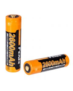 Fenix ARB-L18-2600 3.7V 2600mAh ARB-L2-2600 rechargeable Li-ion battery with PCB and over-heat protection(1pc)