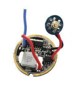 6~13V 5A 5 Modes Three Lithium High Performance LED Flashlight Circuit Board For XHP50,MTG2,XHP70
