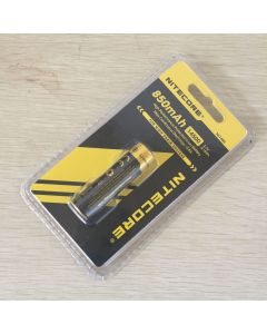 Nitecore NL1485 850mAh 14500 3.7V 3.1Wh Li-ion Rechargeable Battery For High Drain Devices