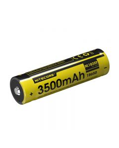 Nitecore NL1835R 3500mAh High Performance Built-in Micro-USB Charge Port Rechargeable Liion Battery 12.6Wh 3.6V