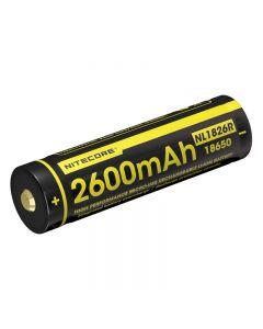 Nitecore NL1826R 3.6V 18650 battery High Performance Micro-USB Rechargeable Li-ion Battery