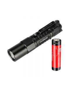 Klarus XT1A 2018 CREE XP-L HD V6 LED 1000 lumens AA Flashlight Dual-Switch EDC Tactical Flashlight