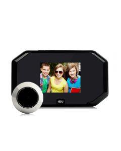 3.0inch Color Screen Peephole Viewer 720P Digital PIR Door Eye Doorbell Camera Night Vision Motion Detection Photo Taking/Video Recording