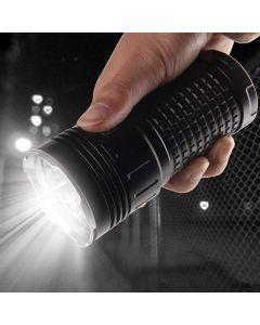 USB Type-C Charging Sky Ray King 18xCree XML T6 4 Modes 15000 Lumens LED Flashlight