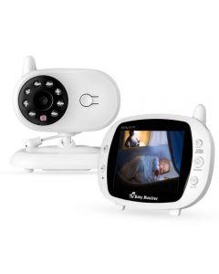 "Baby Monitor 3.5"" Wireless SP850 Baby Sleeping Music Monitor Two-way Radio Camera Night Vision Portable Temperature Monitor Camera"