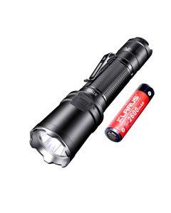 Klarus XT11R 1300-Lumen Cree SST-40 LED Rechargeable 18650 Tac Flashlight
