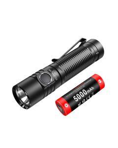 Klarus G15 4000-Lumen Cree XHP70.2 LED Bright EDC Rechargeable 21700 Flashlight