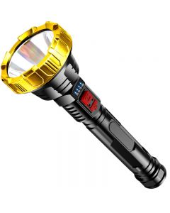 T6 LED high-power flashlight long-range waterproof camping hand light USB rechargeable flashlight