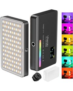 ULANZI VL120 RGB video light 360 full color 20 kinds of lighting effects Built-in 3100mAh battery for photography