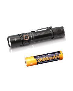 Usb Charging Fenix PD35 V3.0 1700-Lumen IP68 Tac LED Flashlight Toch Kit