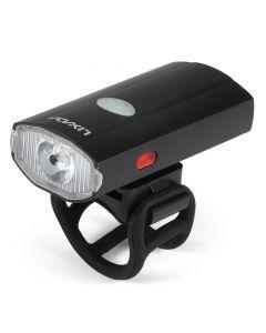 USB Rechargeable Cycling Helmet Headlight Waterproof Bicycle Headlight Rear Taillight Lamp Flashlight
